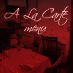 menu alacarte